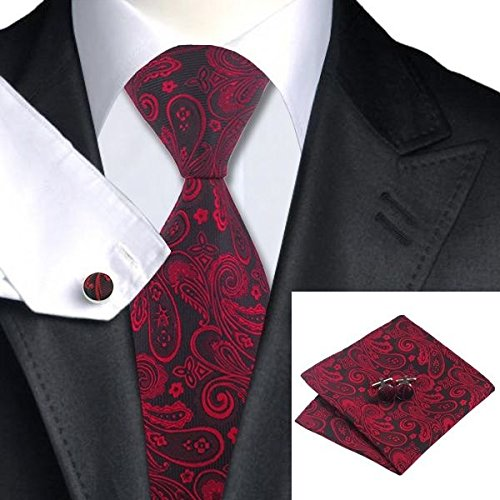jacob-alex-39152-red-paisely-tie-for-men-jacquard-woven-silk-necktie-pocketsquare-cufflink