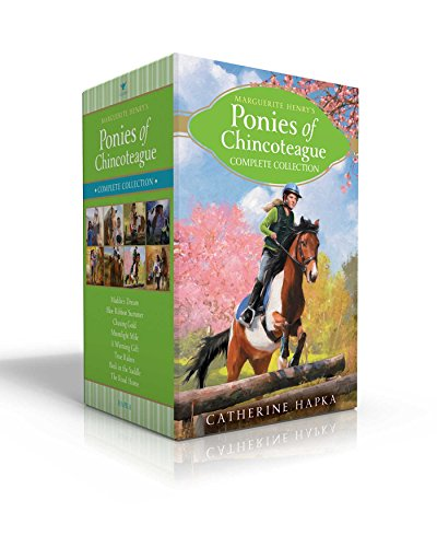 Marguerite Henry's Ponies of Chincoteague Complete Collection: Maddie's Dream; Blue Ribbon Summer; Chasing Gold; Moonlight Mile; A Winning Gift; True Riders; Back in the Saddle; The Road - Pony Misty