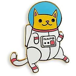 Pinsanity Astro Cat Enamel Lapel Pin