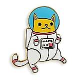 Pinsanity Astro Cat Enamel Lapel Pin фото