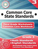 Third Grade Common Core Workbook: Worksheets, CoreCommonStandards.com, 1499148771