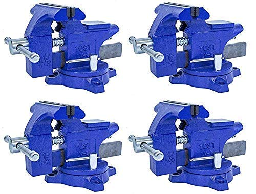 """Yost LV-4 Home Vise 4-1/2"""" (Pack of 4)"""
