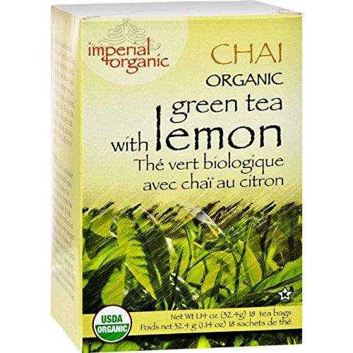 Uncle Lee s Tea Organic Imperial Lemon Chai - 18 Bags - 95%+ Organic -