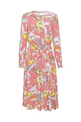 Damen ESPRIT Old Pink by Mehrfarbig edc Kleid 680 8REaE6