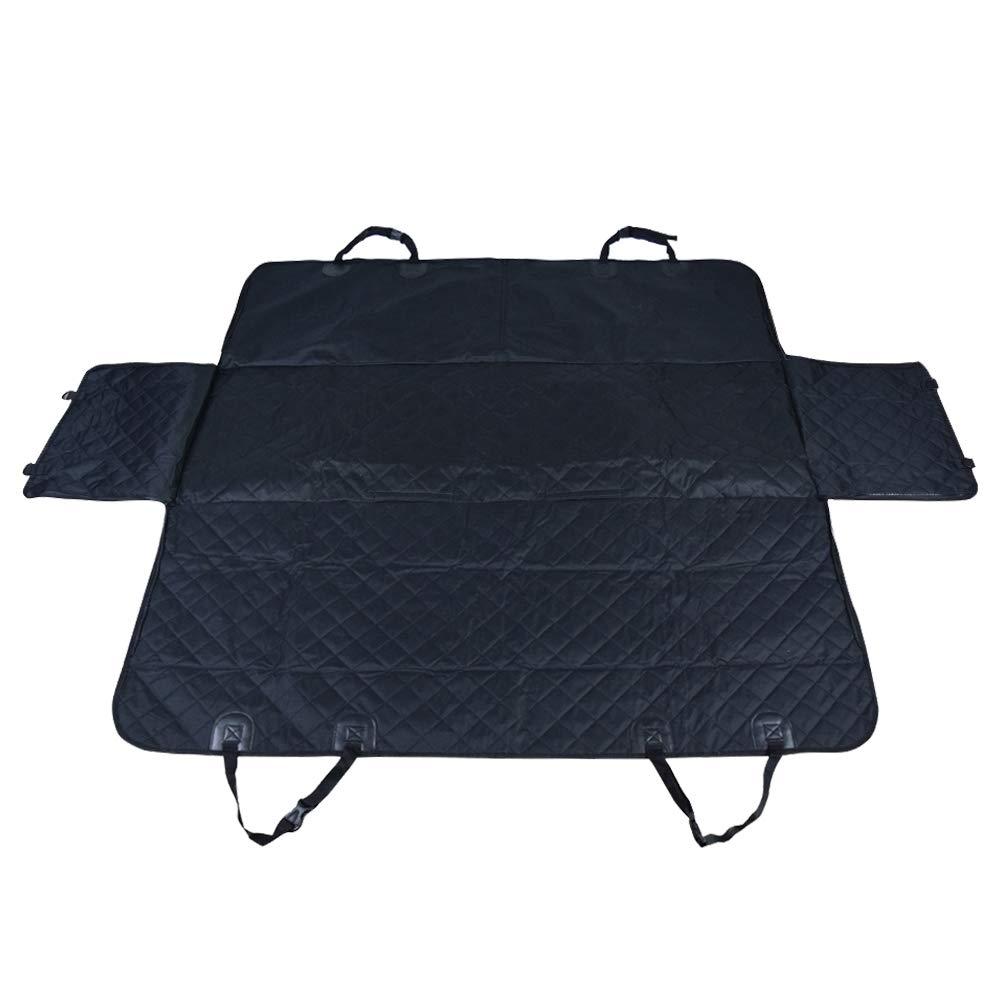 LOMOS Robusta Coperta Impermeabile Protettiva per Cani sedili Posteriori con Protezione Laterale