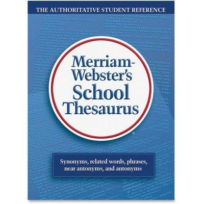 MER78 - Merriam-Webster Grade 9-11 School Thesaurus Education Printed Book - English