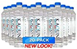 KAQUN Water 20-Pack, Oxygenated & Refreshing, Oxygen Infused Bottled Drinking Water, Chemical Free, Detox, for Kaqun Therapy, Authorized Retailer