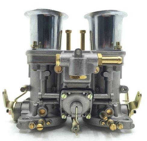 Gowe Carburador para 44IDF 44idf con cuerno de aire para Bug/Beetle/VW/Fiat/Porsche replece Weber para carburador Carb