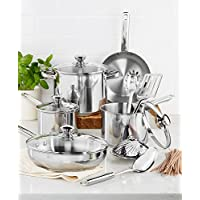 13-Piece Tools of the Trade Stainless Steel Cookware Set