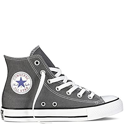 Converse Chuck Taylor All Star Hi Top Charcoal(Size: 5 US Men's)