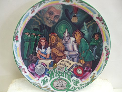 The Wizard of OZ - If I Only Had A Brain - Musical Collector's Plate by Knowles