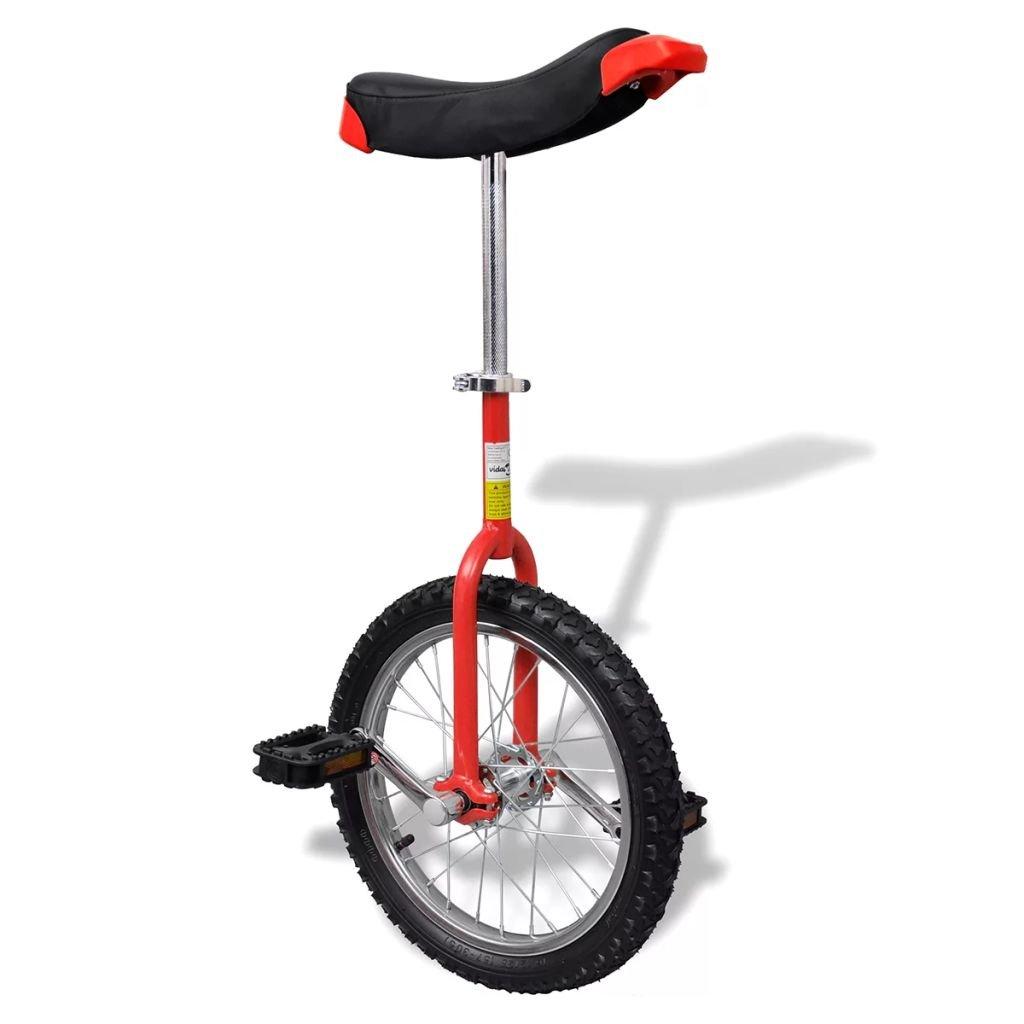 & 039;lingjiushopping Einrad verstellbar rot rot und schwarz Durchmesser ¨ ¨ Tre der Räder  16 (40,7 cm)
