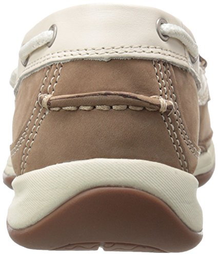 Shoe Rockport Club Cream Sailing RK673 Women's Tan Work Work wqwRH