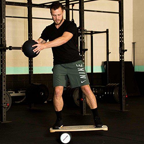 Driftsun Wooden Balance Board - Premium Balance Trainer with Roller for Surf, SUP, Wakesurf, Wakeskate, Ski, Snowboard and Skateboarding. by Driftsun (Image #7)