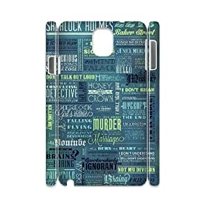 YUAHS(TM) Customized 3D Hard Back Cover Case for Samsung galaxy note 3 N9000 with Sherlock YAS383895