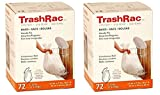 Sunbeam Trashrac Trash Bags 5 Gal. 0.7 Mil 72 Bags - Psack of 2 (Total 144 Bags)