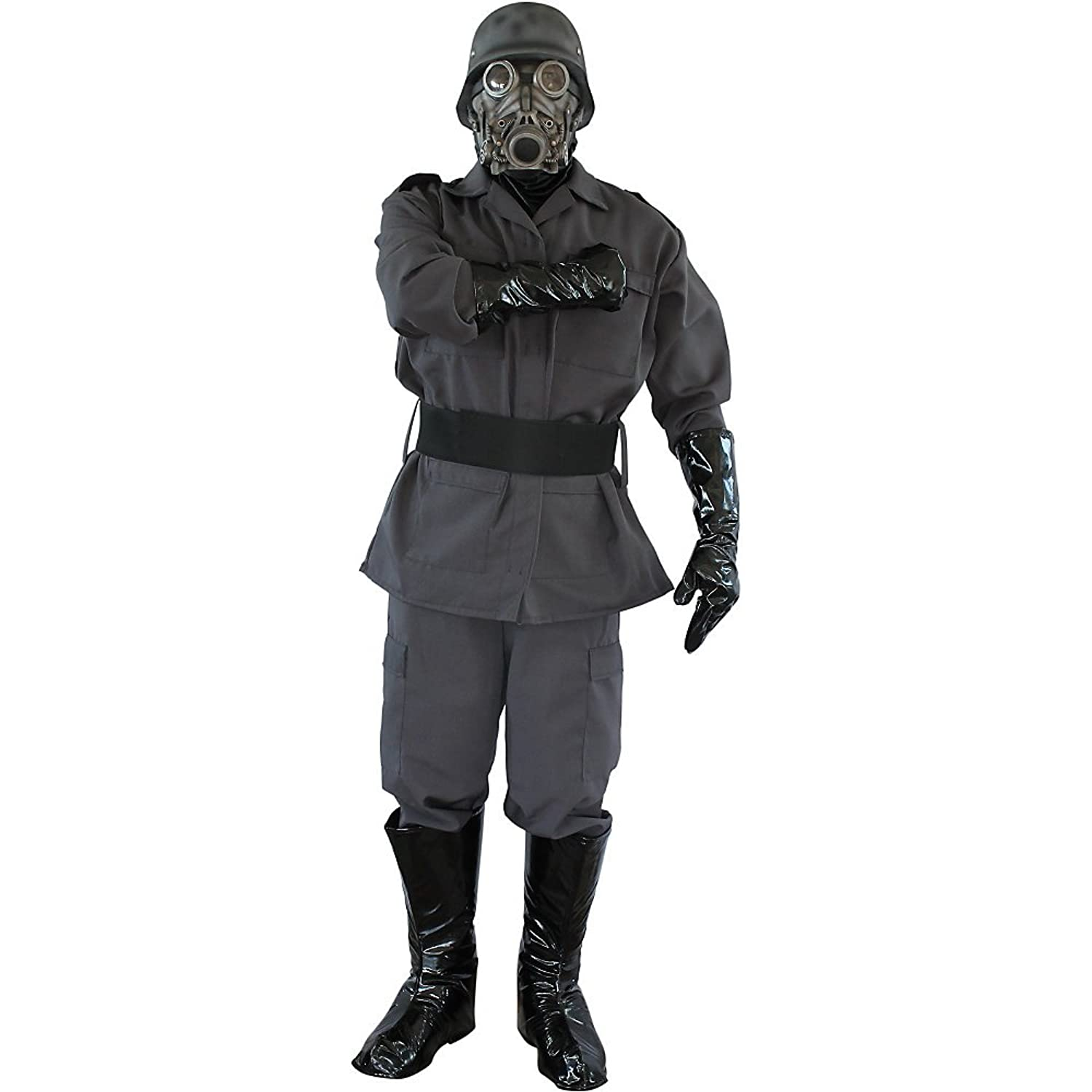 Amazon.com: Chemical Warfare Military Complete Adult Costume with ...