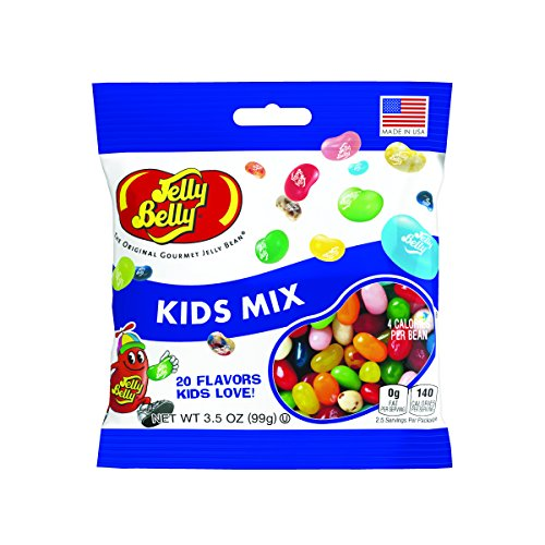 Jelly Belly Kids Mix Jelly Beans, 20 Kid-Friendly Flavors, 3