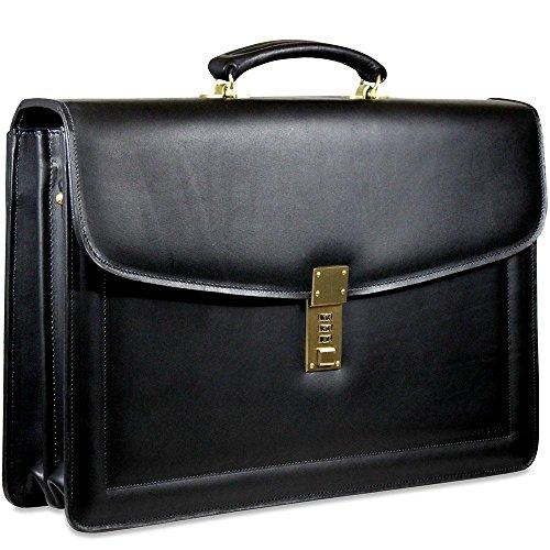Jack Georges Belting Slim Combination Lock Briefcase Jack Georges Slim Briefcase