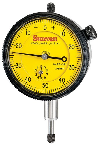 Dial Indicator Assembly : Starrett j dial indicator calipers