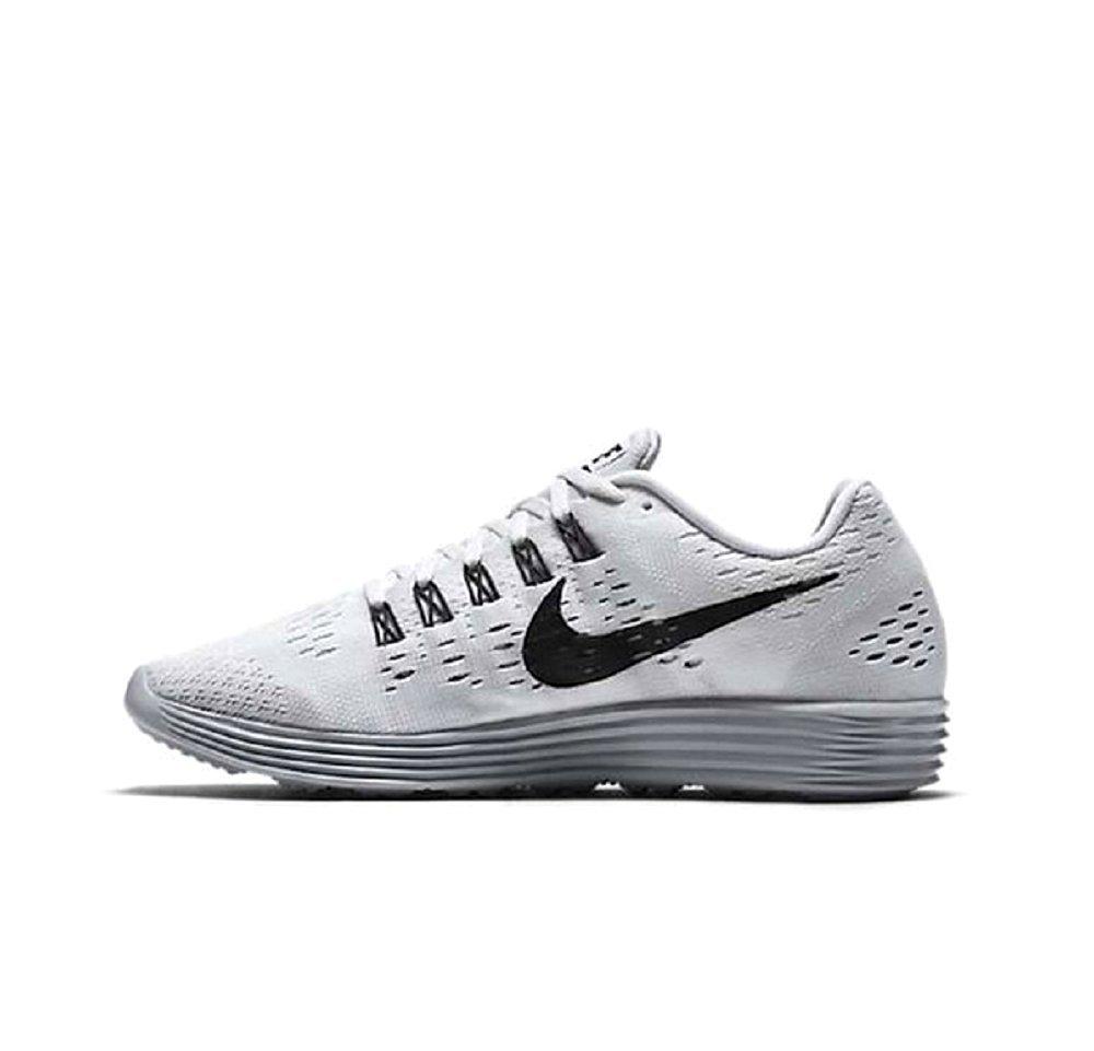 Nike Lunartempo Zapatillas de Running, Hombre 45 EU Blanco / Negro / Gris (White / Black-wolf Grey-drk Grey)
