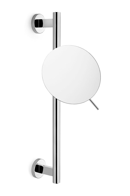 ZACK Scala 40095 Miroir cosmétique avec finition Glossy - réglable en hauteur et pivotante 20 cm