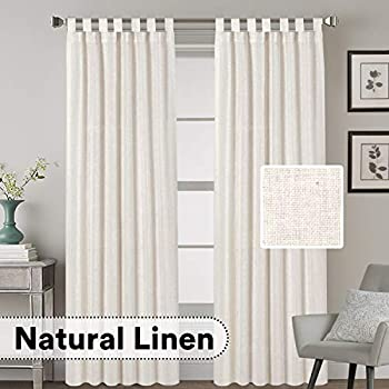 Amazon.com: ZebraSmile 1 panel cortina transparente cortinas ...