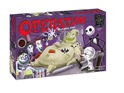 Christmas Operation Game.Nightmare Before Christmas Operation