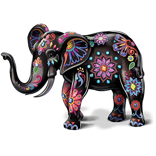 - Reign Of The Monarch By Blake Jensen Porcelain Elephant Figurine by The Hamilton Collection
