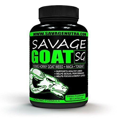 SAVAGE-GOAT-60s-FLASH-SALE-TODAY-EXTRA-STRENGTH-1000mg-HORNY-GOAT-WEED-high-potency-supports-ENERGY-LIBIDO-in-Men-Women-contains