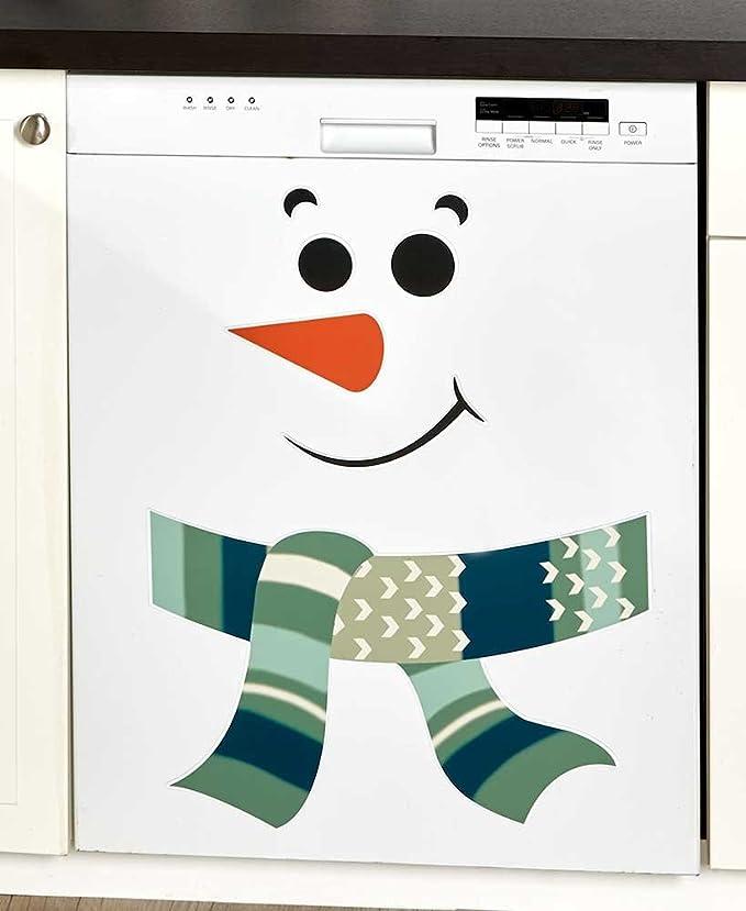 El muñeco de nieve imanes para nevera (verde): Amazon.es: Hogar