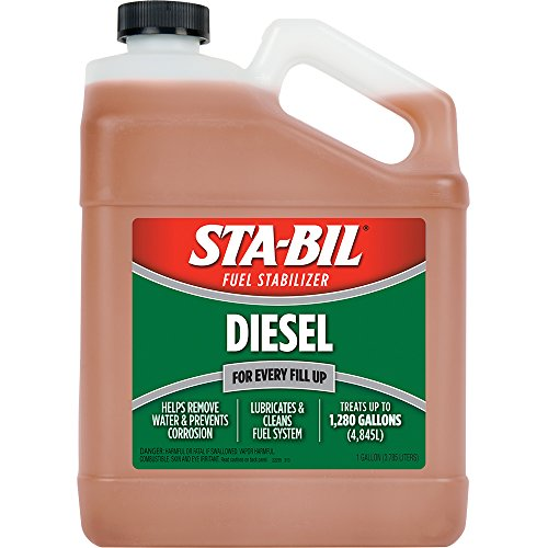 Sta-Bil 22255 Diesel Formula Fuel Stabilizer and Performance Improver – 128 Fl. oz.