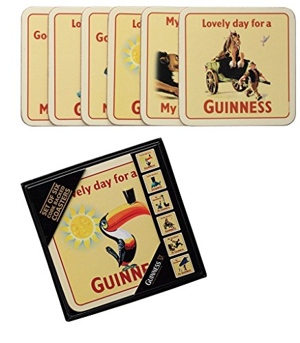 - Guinness Assorted Cork Backed Coasters