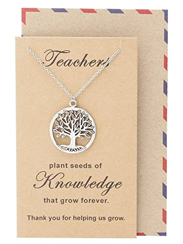 Quan Jewelry Teacher's Day, Tree of Life Necklace