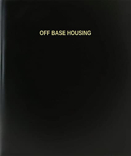 Amazon com : BookFactory Off Base Housing Log Book / Journal