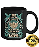 BEST QUALITY, Mug Native We Do Not Want ... we want place and love,11 oz, Black Ceramic Native American Dream, Native American Warrior- Unique Coffee Mug, Coffee Cup