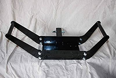 "Scratch And Dent Vortex Winch Mount Plate/receiver Hitch 2"" Heavy Duty, Fits Standard Winches From 5000 Lb To 12000 Lb"