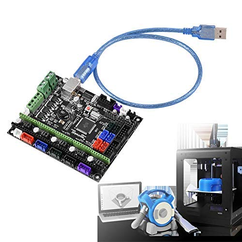 MKS GEN L V1.0 Controller Board 3D Printer Kit Mainboard Ramps1.4 Dual Extruder Touch for 3D Printer Accessories