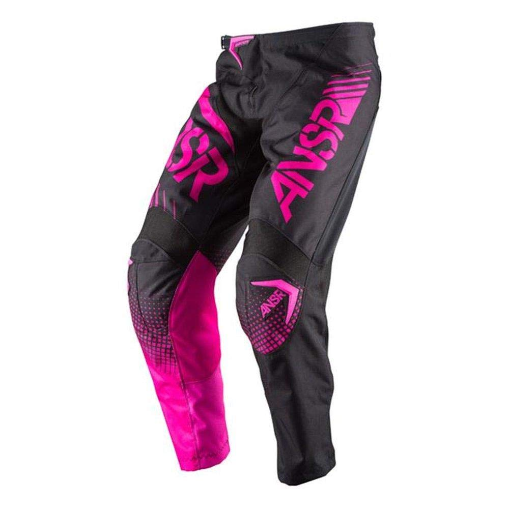 Answer 2017 Women's Syncron Pants (4) (BLACK/PINK)
