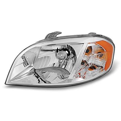 (For 2007 2008 2009 2010 2011 Chevy Aveo 4 Door Sedan Clear Left LH Driver Side Front Lamp Headlight)