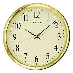 SEIKO Round Arabic Numerals Wall Clock