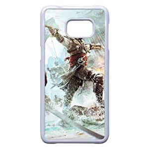 Samsung Galaxy S6 Edge Plus Phone Case White Assassins Creed Black Flag ZEC889953