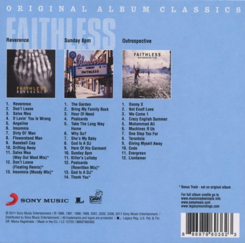 Original Album Classics   Faithless: Amazon.de: Musik
