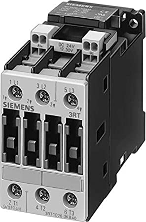 Siemens sirius - Contactor ac-3 5,5kw corriente alterna 24v 3 polos s0 borne conexion tornillo