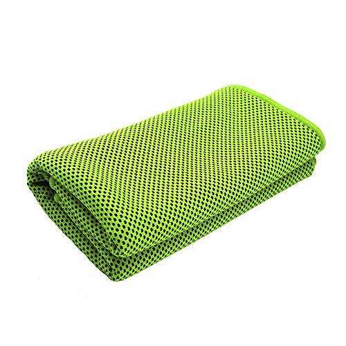 [해외]벚꽃의 취 방 스포츠 수건 속 건 수건 슈퍼 흡수 성 수건 일사병 방지 경량 슈퍼 냉 타월 촉감 좋음 매우 부드러운 냉각 수건 운동 등산 여행 (녹색) / Sakura Drunken Shop Sports towel super-absorbent towel ultra-soft towel heat stroke anti-...