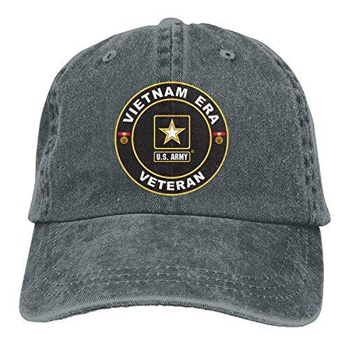 Era Hat Mesh - Funny U.S. Army Vietnam Era Veteran Denim Cowboy Baseball Cap Fish Vintage Halloween GiftsHat