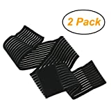 BXT A Pair (2 Pieces) Elastic Breathable Wrap Ankle Support Brace Compression Knee Elbow Wrist Ankle Hand Support Wrap Sports Bandage Strap Hook & Loop Fastener Straps(ONE PIECE)