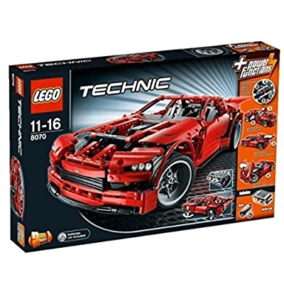 Lego 8070 Technic Super Car: Toys & Games