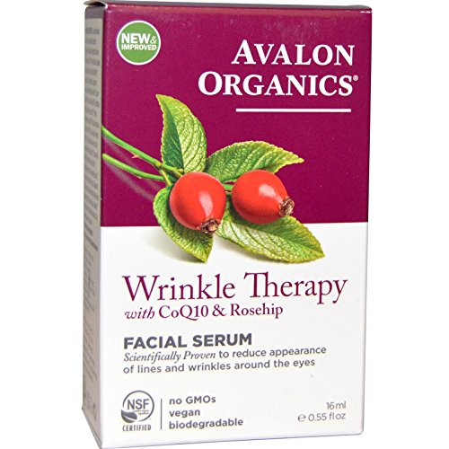 Avalon Organics, CoQ10 & Rosehip Wrinkle Therapy, .55 fl oz (16 ()