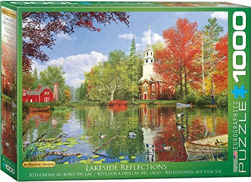 EuroGraphics Lakeside Reflection by Dominic Davison Jigsaw Puzzle ()
